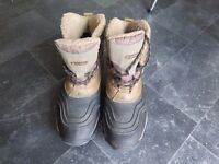 Hi Tec Winter Walking boots, with fleecy lining and waterproof uppers. Size 10 UK