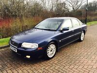 Volvo S80 2.4 automatic in excellent condition full Volvo service history long mot till September 17