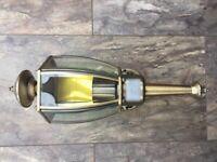 Brass Outdoor Light (Lantern Style)