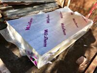 5 x Ecotherm (like Celotex or Kingspan) PIR Insulation Boards, 75mm 2400x1200