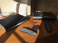 Two Sky+HD Receivers