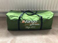 Vango Skye 400 4 Man Tent Green Camping