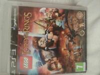 """ps3 game """"lord of the rings"""""""