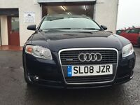 2008 AUDI A4 SE QUATTRO 4WD TDI 2L DIESEL ESTATE *** 6 SPEED *** YEAR MOT *** MUST BE SEEN ***