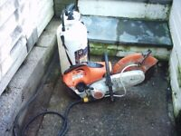 sthil ts 410 petrol disc cutter
