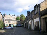 Newly decorated one bedroom flat to rent in quiet mews near Dean Bridge, West End Edinburgh