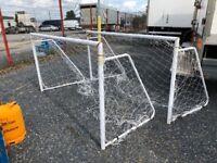 Set of Metal Football 5 a Side Nets