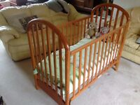 Mothercare Cot and Bedding