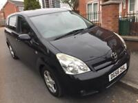 56 REG Toyota Corolla Verso 2.2 D-4D TR Diesel 5dr 7 SEATER,SERVICE HISTORY HPI CLEAR