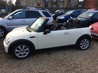 Mini one 1.6 convertible 08 Reg only 45,000 miles immaculate best colour of all finance available