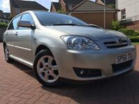 *IMMACULATE EXAMPLE*12 MONTHS WARRANTY*2006(56)TOYOTA COROLLA 1.6 VVTI COLOUR COLLECTION 5DR 66K*
