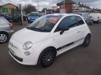 Fiat 500 POP,stunning 3 door hatchback,stop/start,2 previous owners,3 keys,runs and drives well