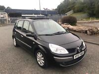 2008 57 RENAULT SCENIC1.5 DCI 85k IMMACULATE MUST SEE FSH DRIVES LIKE NEW PAN ROOF BARGAIN