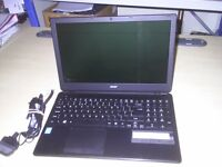 ACER ASPIRE E1-530 SLIMLINE LAPTOP with HD graphics, 500GB HDD, 4GB DDR3 memory