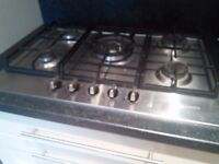 BAUMATIC 5 RING GAS HOB ONLY 9 MONTHS OLD
