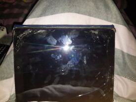 ipad 2 damaged screen 16gb sim uses wifi and sim card