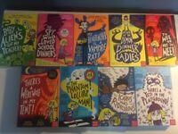 9 Pamela Butchart children's books: Including 'The Spy Who Loved School Dinners'