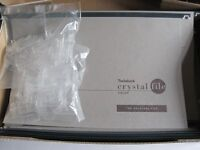 30 GREY CRYSTALFILE SUSPENSION FILES NEW C/W INSERTS AND TABS