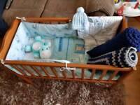 Baby boys Crib bundle