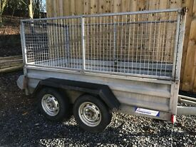 Indespension 8x5 braked trailer