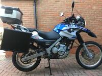 Low miles - BMW F650GS Dakar 2004 FULLY kitted for Touring