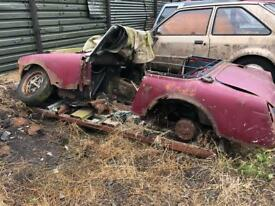 Mg midget title/car great for kit car or spares