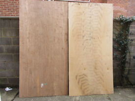 Plywood sheets, 6 number.