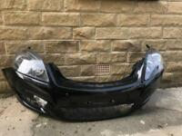 Genuine Vauxhall Zafira B Front Bumper & Headlights