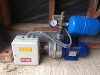 Mains water booster pump set Lowara
