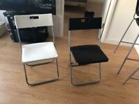 IKEA foldable chairs