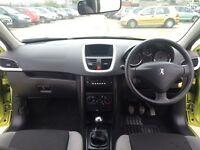 Peugeot 207, 1.4 3 dr, hatchback, manual, petrol.