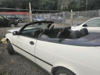 SAAB 900s non turbo convertible. 2.0 Manual. 1997. MOT expired 110000