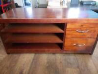 Solid wooden TV unit/cabinet