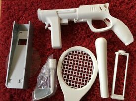 Wii various Accessories