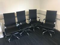 4 Brand New Office Chairs