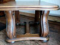 Wooden coffee/lamp table