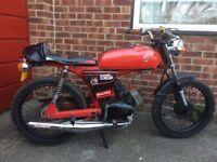 Yamaha FS1E, new mot, Fizzy motorcycle / moped cafe racer