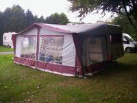 Bradcot 720cm full awning Red/White
