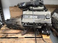 BMW E36 3 series 318is 318ti M44B19 1.9 Engine and gearbox complete - compact cup spare