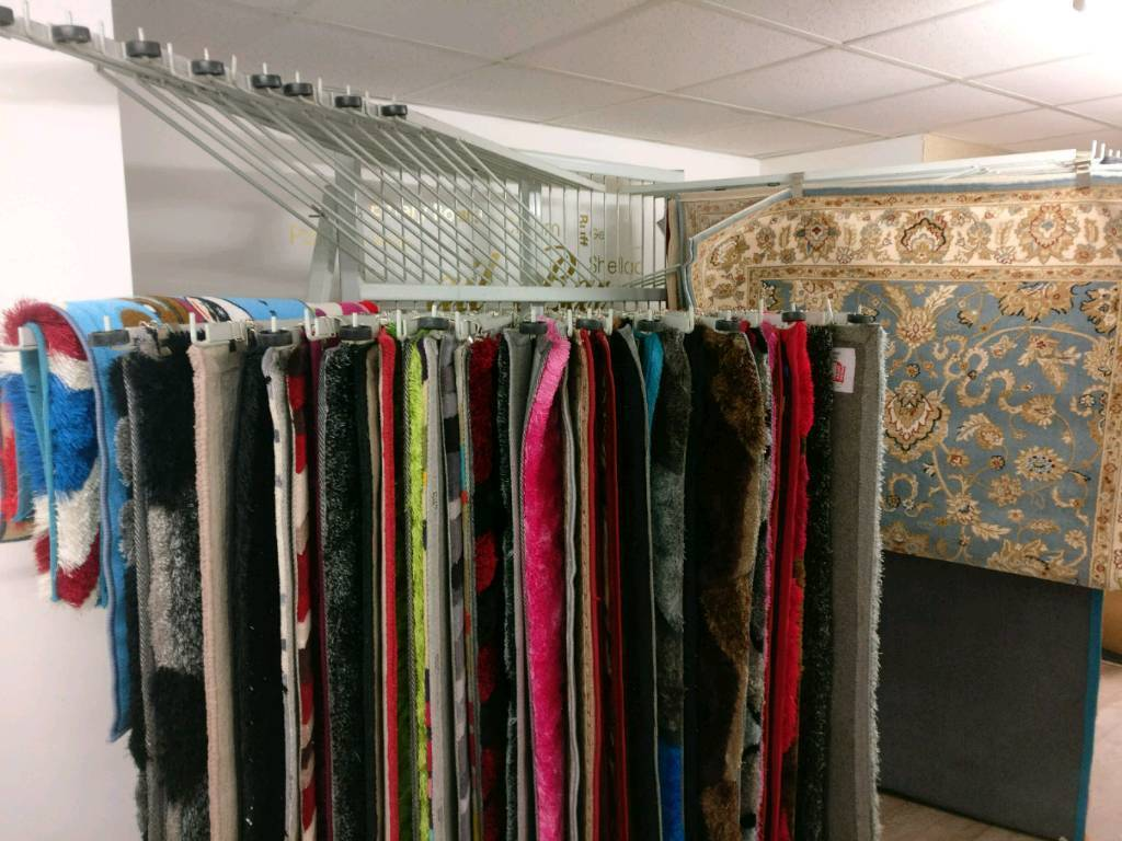 rug display stand for 40 rugs | in leicester, leicestershire | gumtree