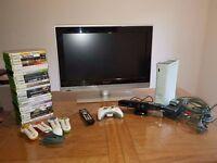 Xbox360 and TV bundle