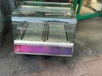 CATERING COMMERCIAL HOT DOOR COUNTER TOP DISPLAY CUISINE COMMERCIAL KITCHEN CAFE TAKE AWAY BBQ BAR