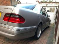 2000 Mercedes Benz E55 AMG, Silver, FSH, Automatic, Black Leather, COMAND, Many more extras!
