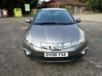 2008 Honda Civic 1.8 EX model, Full Srvc Histry, 8m MOT