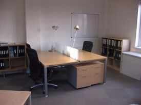 Desks to rent in large open-plan offices in Wandsworth Town, SW18