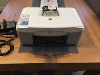HP Deskjet F380 All-in-One Printer Scanner Copier + NEW Ink Cartridge + USB Cable