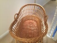 Moses Basket with covers