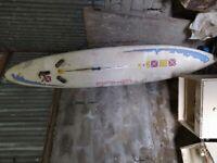 Tiga windsurfing paddle board