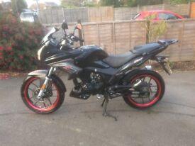 Low Mileage 125CC bike for sale. Excellent condition