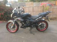 Low Mileage 125CC bike for sale. Excellent condition